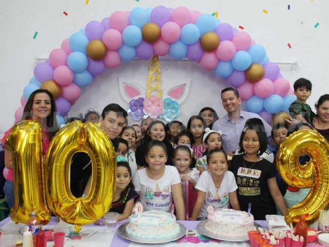 Felicidades, Ana Claudia y Ximena