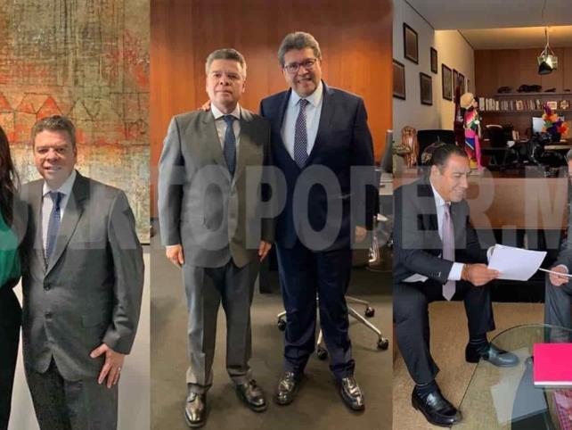 Se reúne IsmaelBrito con senadores