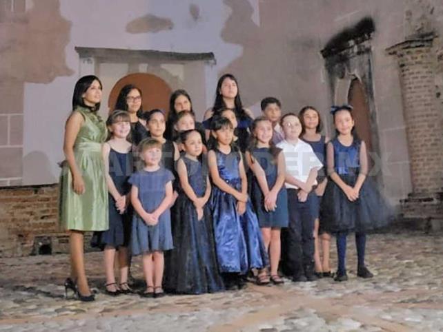 Niños al Piano, en Exconvento de Santo Domingo