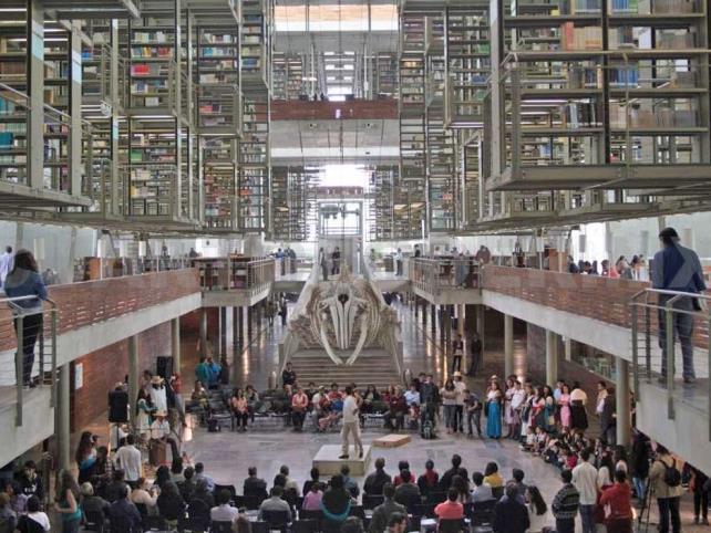 Biblioteca Vasconcelos, entre las mejores