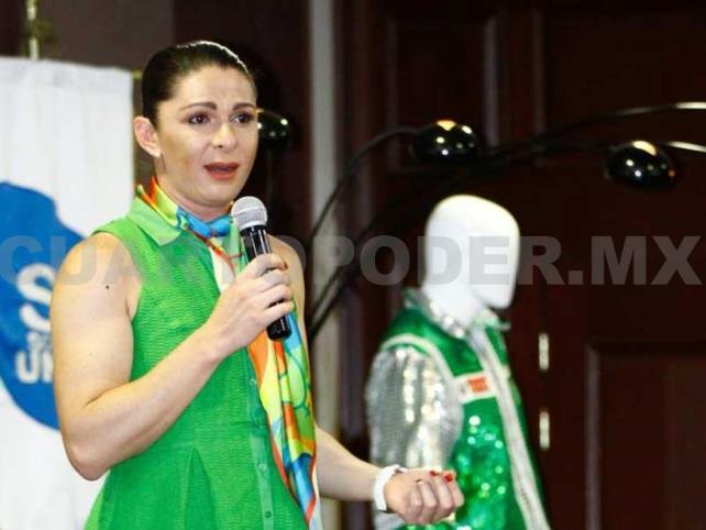 Ana Guevara respalda a los entrenadores