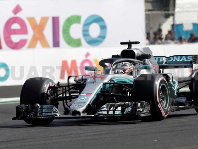 Hamilton busca ser rey por tercer año en México