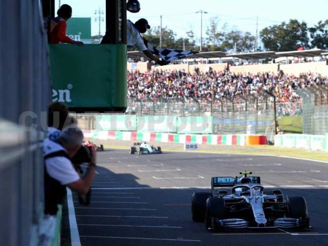 Valtteri Bottas conquista el Gran Premio de Japón