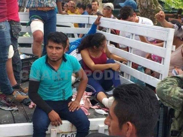 Balean a 12 miembros de la Mocri en fallido rescate
