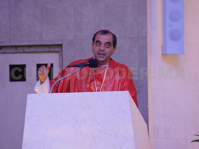 Obispo llama a garantizar la paz