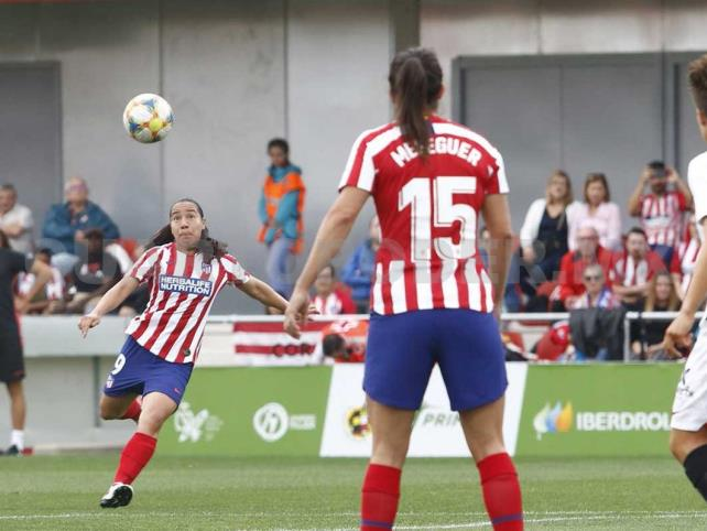 Charlyn Corral le da el triunfo al Atlético