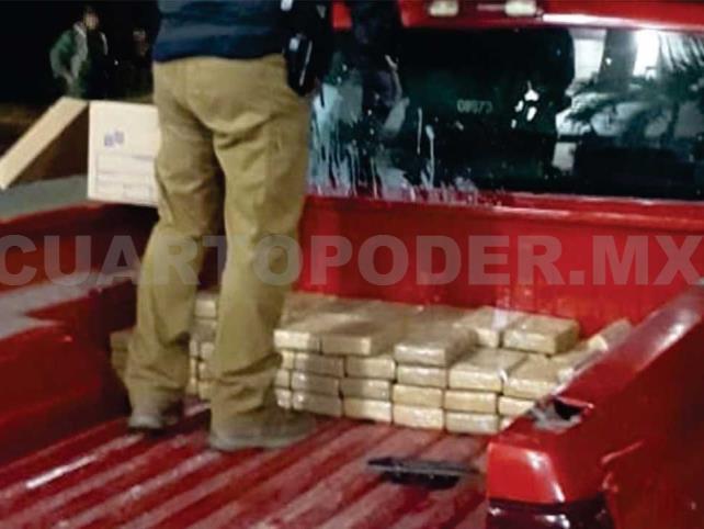 Aseguran cerca de 74 kilos de cocaína