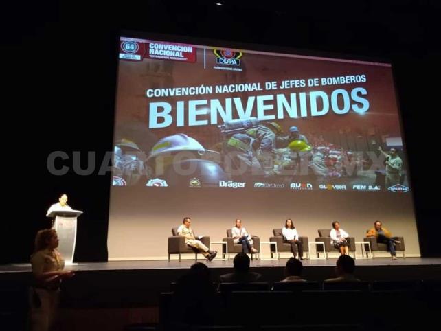 Bomberos Villaflores en Convención Nacional