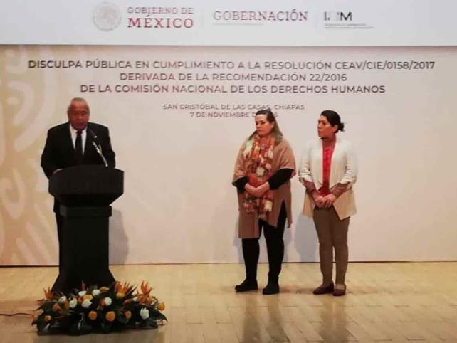 Piden disculpas a cuatro indígenas agredidos
