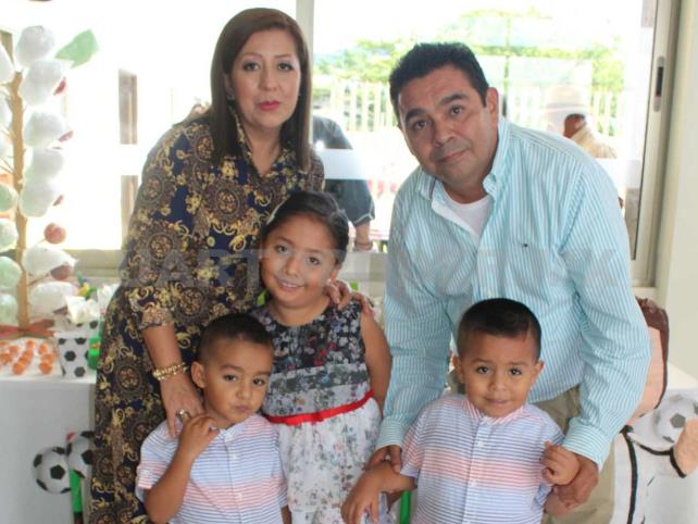 Rodrigo recibió el bautismo