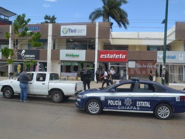 Sujetos armados asaltan Estafeta en Las Arboledas
