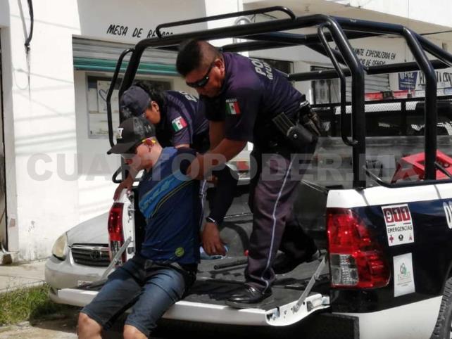 Colombianos perpetran asalto por 200 mil pesos