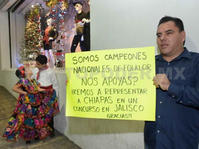 Campeones nacionales en folclor solicitan apoyo