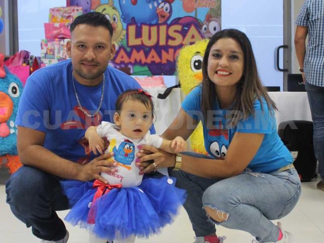 Luisa cumplió su primer año