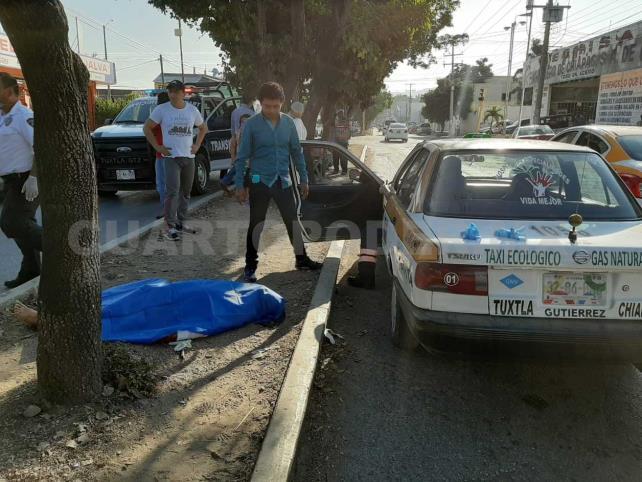 Paro cardiaco provoca la muerte de un taxista