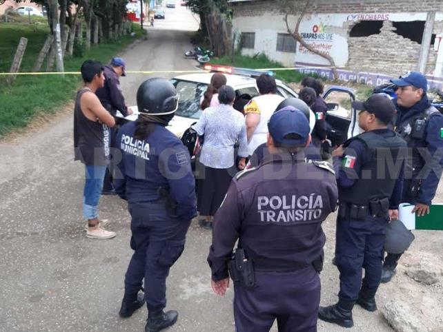 Intentó robar motocicleta y es detenido por oficiales
