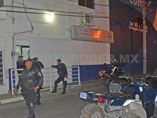 Armados perpetran violento asalto a Smapa