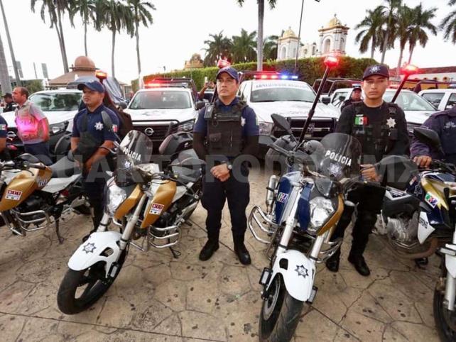 Fortalecen acciones de  seguridad en municipios