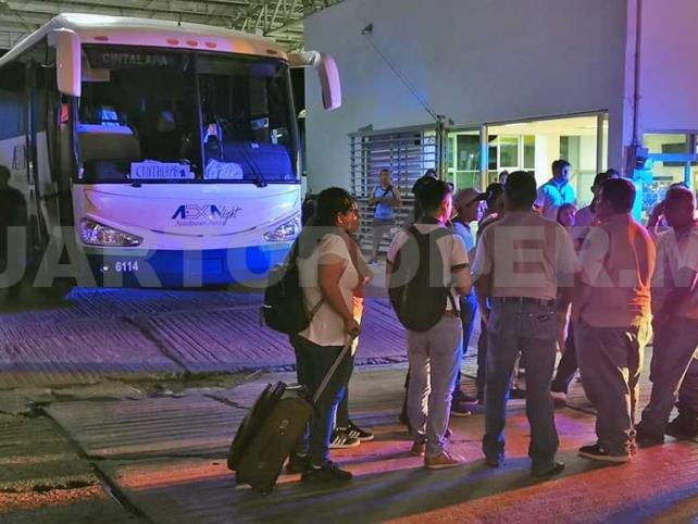 Hampones asaltan autobús en libramiento
