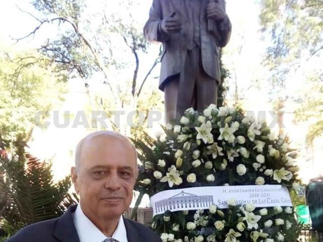 Rinden XVIII homenaje luctuoso a Manuel Velasco Suárez