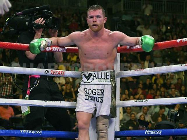 """""""Canelo"""" combatiría """"por negocios"""" con peleador UFC"""