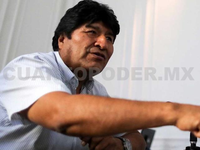 Evo Morales critica a Estados Unidos