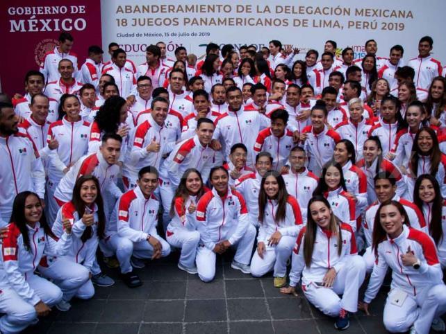 México, con 130 a Juegos Olímpicos