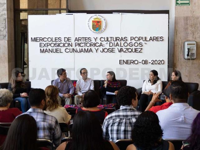 """Presentan exposición pictórica """"Diálogos"""""""
