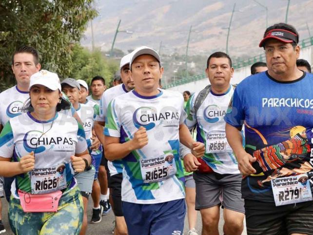 Participa fiscal en Carrera del Parachico
