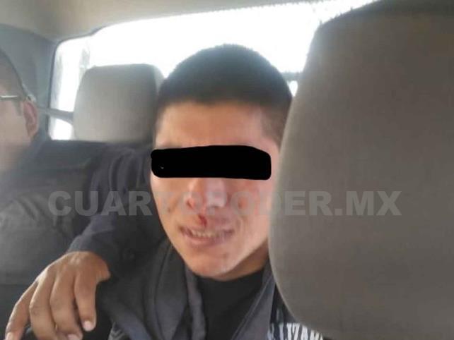 Colonos detienen a presunto violador
