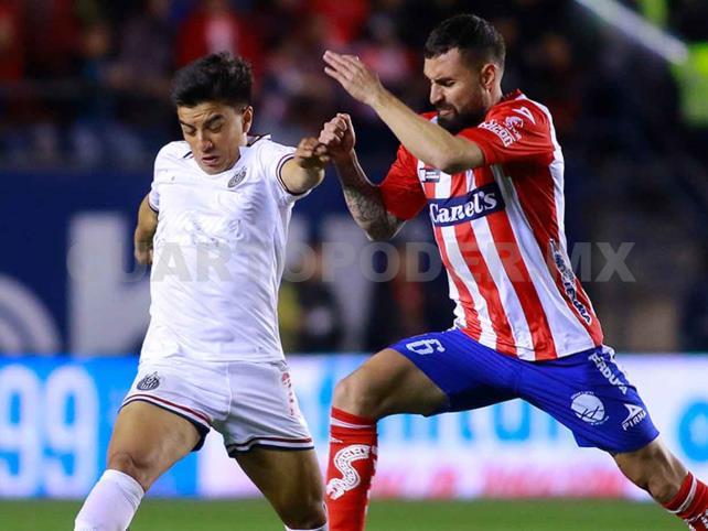 San Luis le sacó el empate a Guadalajara