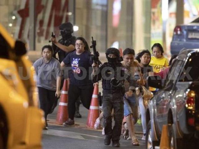 Suman 20 muertos en centro comercial