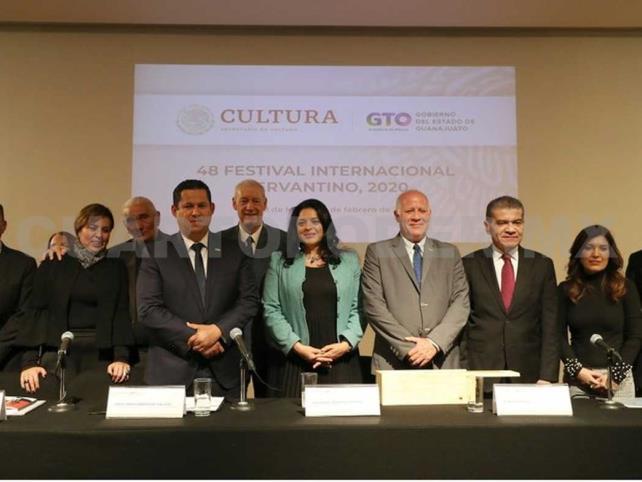 Cuba y Coahuila, los invitados del Cervantino