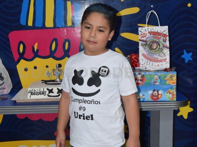 ¡Muchas felicidades, Uriel!