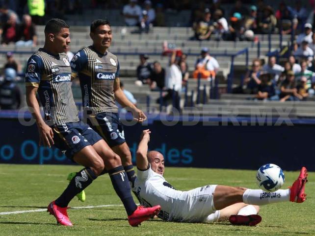 Pumas golea al Atlético de San Luis