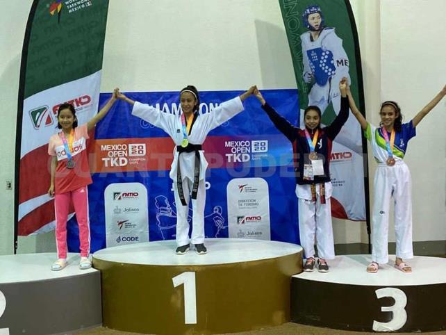 Atletas regresan con 9 medallas de oro