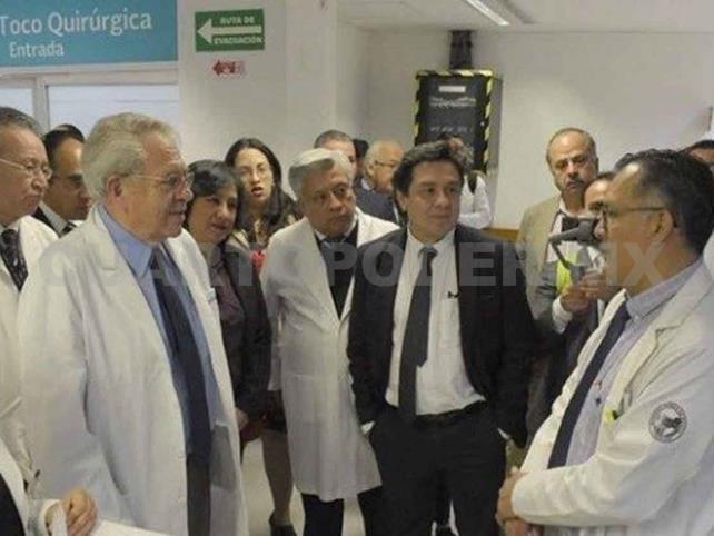 Visitan de sorpresa a hospital Juárez