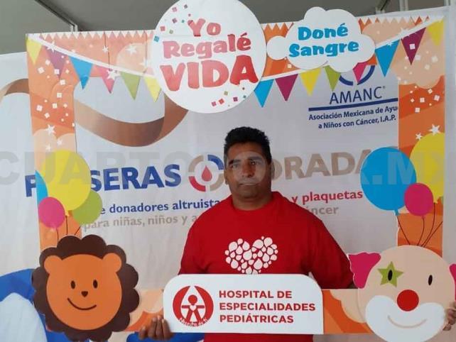 Donadores regalan vida a infantes con cáncer