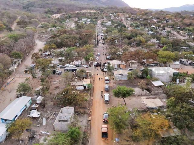 """En operativo recuperan el predio """"Lomas del Sereno"""""""
