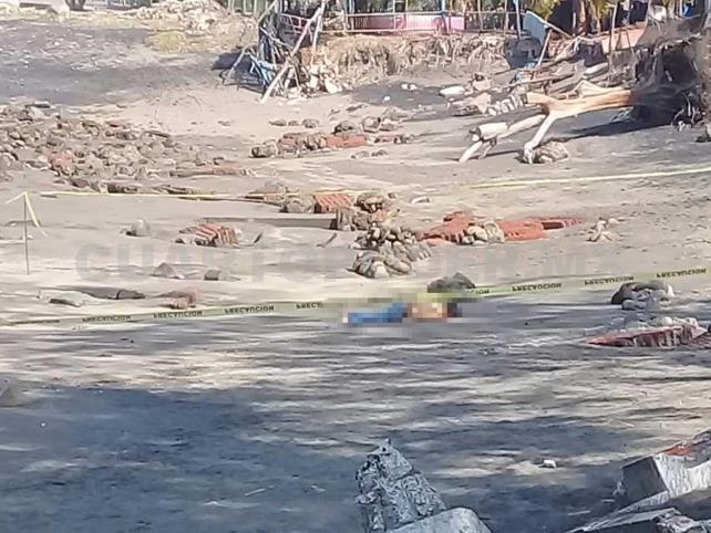 Muere ahogado en la playa San Benito