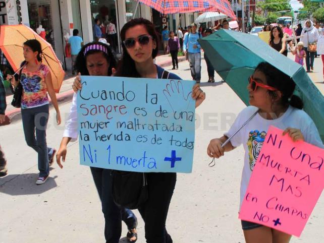 Cero impunidad a la violencia de género: diputada