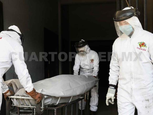 México llega a mil 732 muertos por Covid-19