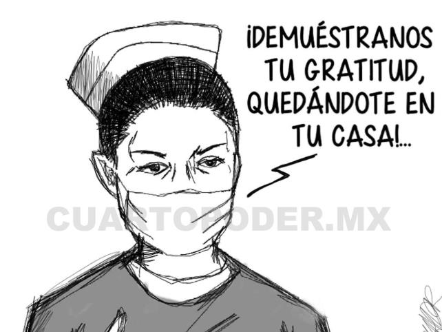 México en el día internacional de la enfermera