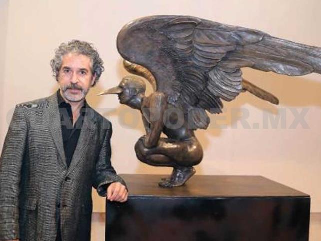 Roban siete obras de Jorge Marín en galerías