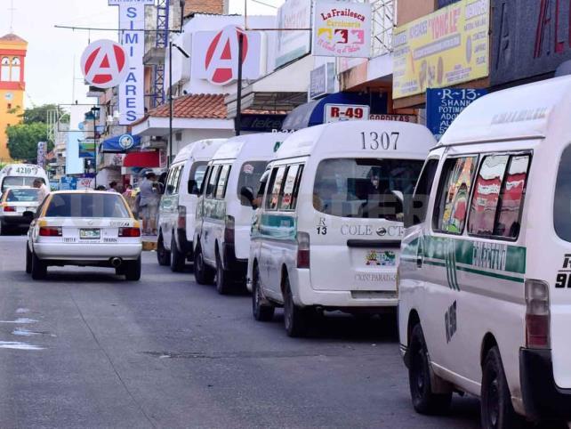 Transportistas no respetan medidas de prevención