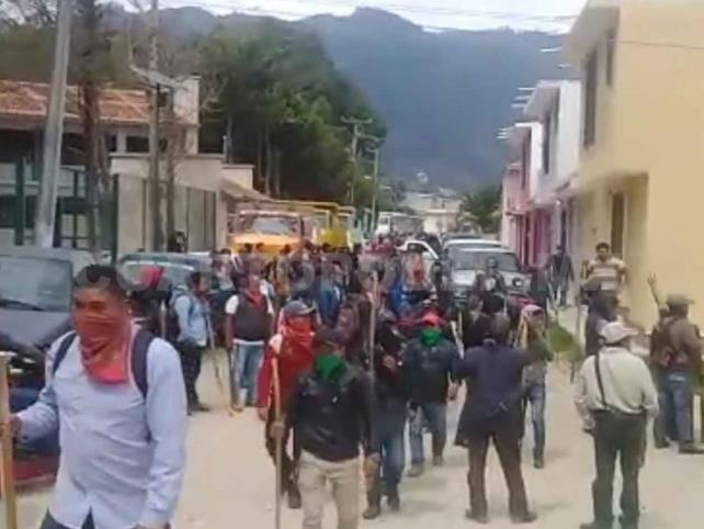 Habitantes de Chilil se manifestaron en SCLC