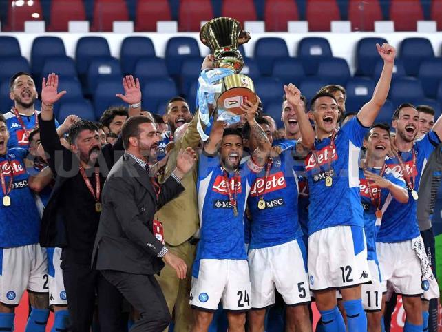 Napoli, campeón de la Copa Italia