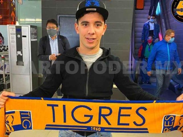 Se reporta Leo Fernández con Tigres