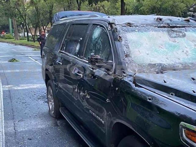Hasta 28 agresores en atentado contra García Harfuch