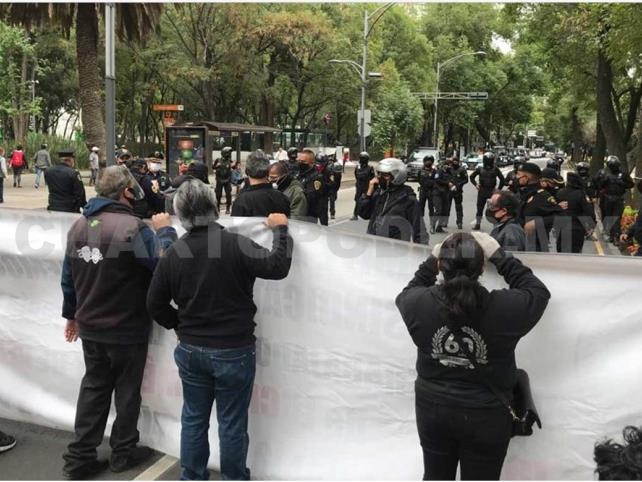 Protestan por el Teatro Jiménez Rueda